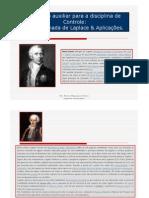 Transformada de Laplace_Aplicações