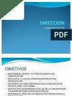 Expo Sic Ion de Direccion - Comunicacion y Conclusiones