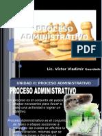 Unidad II Proceso Administrativo