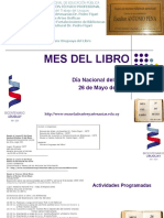Presentación MES del LIBRO