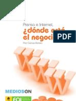 PRENSA E INTERNET ¿DONDE ESTA EL NEGOCIO?