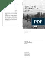 Revista de Antropologia Rural 2006