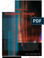 Snubber Design Dr.ray Ridley