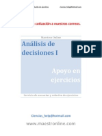 Analisis de Decisiones I Apoyo