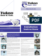 Yukon Super U-Joint Guide