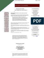 Restoring Government Accountability by Ed Vieira