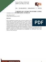 São Paulo e o projeto de centro financeiro latino-americano