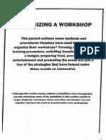 Organizing a Workshop