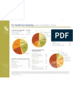 Health Care Spending U.s-quick Reference Guide 2010