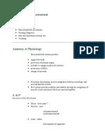 Musculoskeletal AssessmentSherwincaytap