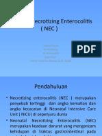 Neonatal Necrotizing Enterocolitis