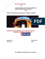 15023025 HDFC Summer Training Project