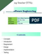 Basic Software Engineering Training Material