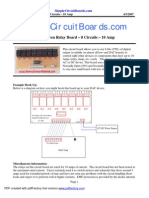 TTL Relay Board 10A-V4 - Spec