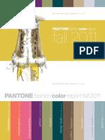 Pantone Fcr Fall 2011