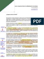 Usando Foxit Reader  en una página del texto de vera rex