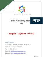 Seajaan Logistics Pvt