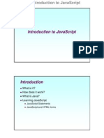 Javascript Intro1