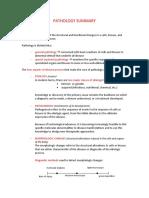 Pathology Summary