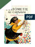 Fantomette Au Carnaval Georges Chaulet