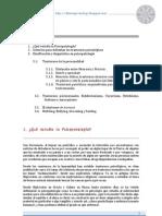 T6. PSICOPATOLOGÍA