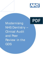 Clinical Audit in NHS