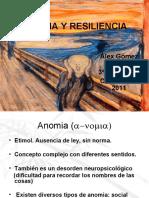 ANOMIA Y RESILIENCIA