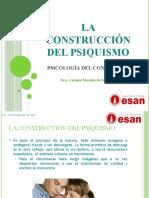 Clase 2 - La Construccion Del Psiquismo