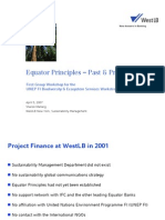 Equator Principles & Financial Institutions