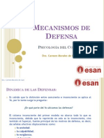 or - CLASE 8 - Mecanismos de Defensa