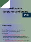 articulatia temporo-mandibulara