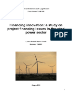 Wind Power Innovation and Financing