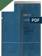 تقرير عن التطبيقات العملية للكونكريت