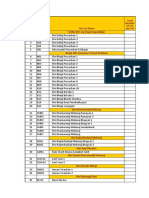 CDs Master List