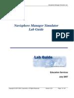 Navisphere Manager Simulator Lab Guide 3.24