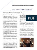 Lettera aperta a Daniel Barenboim