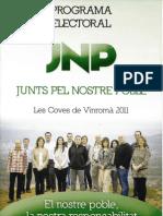 Programa JNP 2011 castellano