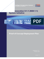 "US Department of Transportation (DOT) ""Next Generation 911"" Proof Of Concept  Deploy Plan v1.0 (2008)"