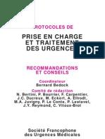 Pro Toc Oles de Prise en Charge Et de Traitement Des Urgences