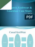 Classic Knitwear & Guardian Case Study