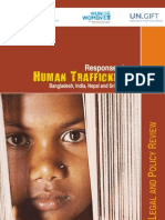 Responses to Human Trafficking in Bangladesh India Nepal and Sri Lanka