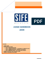 Judge Handbook 2009