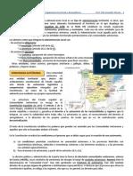 Conceptos de Geografía política. Organización territorial y desequilibrios regionales.