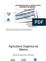 Datos básicos de la agricultura orgánica en México