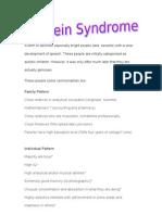 Einstein Syndrome