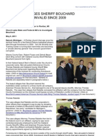 Reprint of Voiceofdetroit.net Article - RICO Case Alleges Sheriff Bouchard Foreclosures Invalid Since 2009