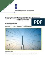 BRIDGE WP07 Textile Industry - Business Case