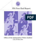 2010 San Jose Independent Police Auditor Year End Report