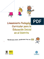to Pedagogico y Curricular Para La Educacion Inicial Version Final