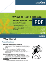 9 Ways to Hack a Web Application